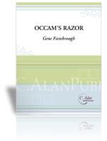 Occam's Razor (Solo Marimba + Perc 4)