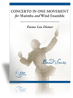Concerto in One Movement for Marimba & Wind Ensemble