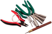 Ear Wire Essentials Kit and Free Sterling Wire and Wire Rounder