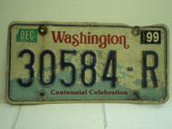 WASHINGTON Centennial Celebration License Plate 30584 R