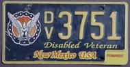 New Mexico Disabled Veteran Perm 1