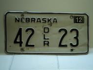 2004 NEBRASKA Dealer License Plate 42 DLR 23