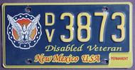 New Mexico Disabled Veteran Permanent