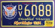 New Mexico Disabled Veteran Permanent 1