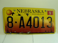 2005 NEBRASKA License Plate 8 A4013