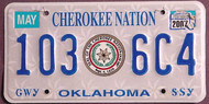 Oklahoma Cherokee Nation 2007 4
