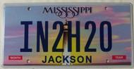 Mississippi Vanity IN2H20 License Plate