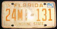 1977 St Lucie DEALER License Plate 24MI131