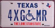 Texas Error Plate Overlap Flat