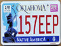 New Oklahoma License Plate