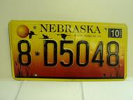2004 NEBRASKA License Plate 8 D5048
