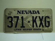NEVADA Silver State License Plate 371 KXG