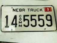 2005 Nebraska Adams County Commercial Truck License Plate 14 5559