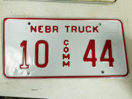 2005 Nebraska Platte County Commercial Truck License Plate 10 44