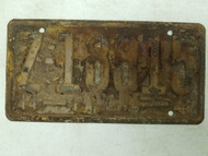 1944-1945 Panama License Plate 7-18915