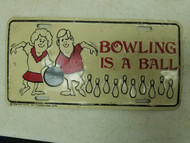 Massachusetts Bowling is a Ball Booster License Plate