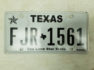 Texas Lone Star State License Plate FJR-1561