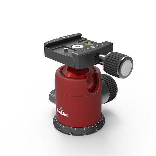 Q3i Emille with Quick Turn Knob (Red)