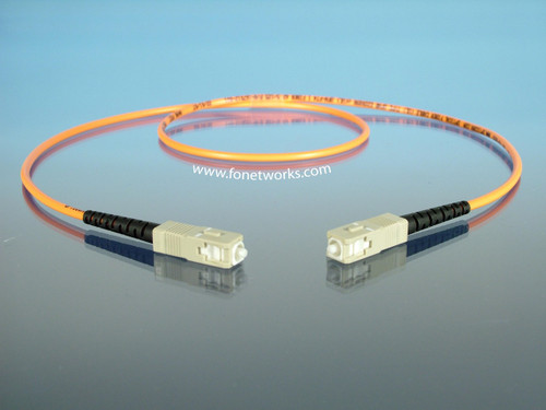 Multimode 50/125 Simplex Cable Assembly SC/SC