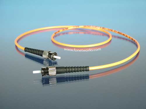 Multimode 62.5/125 Simplex Cable Assembly ST/ST