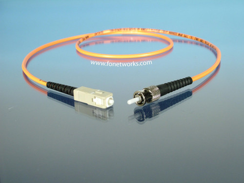 Multimode 62.5/125 Simplex Cable Assembly ST/SC