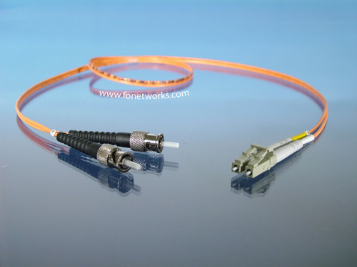 Multimode 62.5/125 Duplex Cable Assembly LC/ST