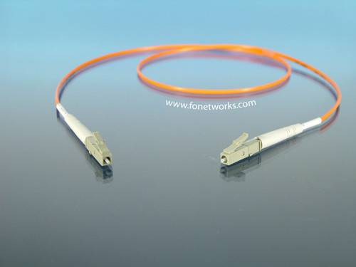 Multimode 62.5/125 Simplex Cable Assembly LC/LC