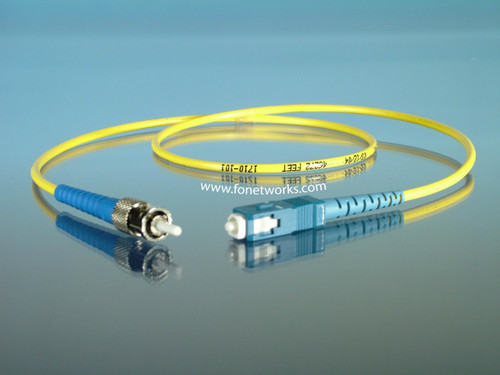 Singlemode Simplex Cable Assembly ST/SC