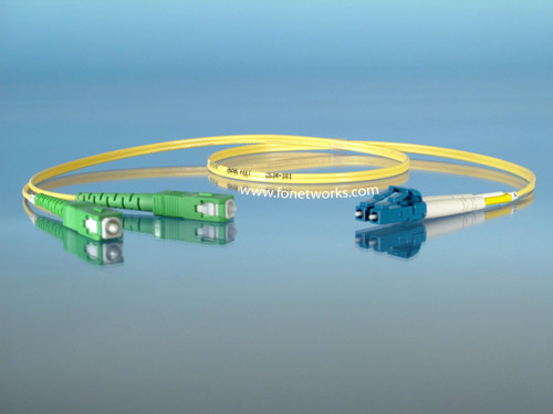 Singlemode Duplex Cable Assembly LC/UPC-SC/APC