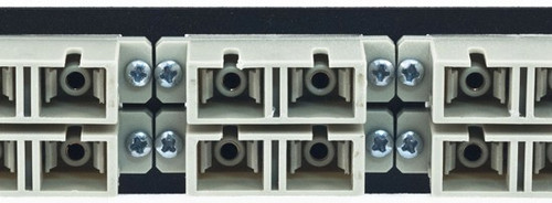 MAP Series Adapter Plates - 12 SC/ST Multimode Duplex Beige (SC Front/ST Rear)