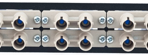 MAP Series Adapter Plates - 12 ST/SC Multimode Duplex Beige (ST Front/SC Rear)
