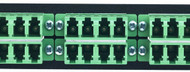 MAP Series Adapter Plates - 24 LC Singlemode APC Quads Green
