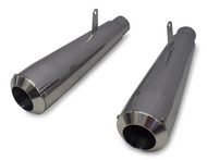 Maxflow StreetPro 4/2 Megaphone Muffler Set - Ceramic Coated (85-07 All)