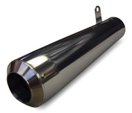 Maxflow DragStar 4-1 Megaphone Muffler - Ceramic Coated (85-07 All)