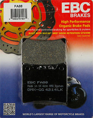 EBC Brakes High Performance Organic Brake Pads - Rear (85-07 All)