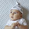 Arrows Gumnut Jersey Baby Hat 2pk