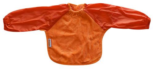 Orange Towel Long Sleeve Bib