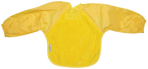 Yellow Towel Long Sleeve Bib