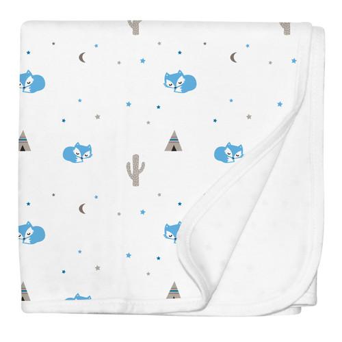 Desert Fox Jersey Stroller Blanket