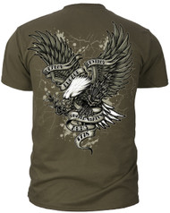 "ARMY - ""DEPLOY ENGAGE DESTROY"" (Back) T-Shirt"