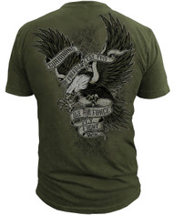 Men's Air Force T-Shirt - US Air Force - GUARDIANS OF FREEDOM - Back