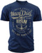 Men's Navy T-Shirt - Once a Chief Retro US Navy