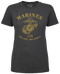 Lady's T-Shirt - US Marines The Few The Proud Retro Women's USMC