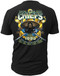 Men's Navy T-Shirt - Navy Chief - All in, All the Time - United States Navy - Black - Back