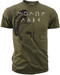 Men's 2nd Amendment T-Shirt - American Pride - Spartan - Molon Labe - Olive