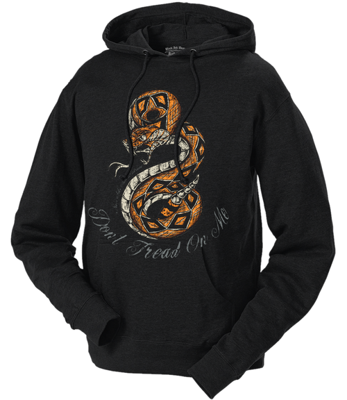 Unisex Men's and Lady's Hoodie - Don't Tread On Me Non Sibi Sed Patriae