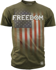 Men's Freedom Tee - American Pride - Freedom T-shirt Olive
