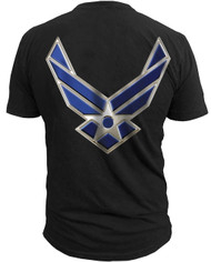 Men's Air Force T-Shirt - US Air Force - Logo - Back