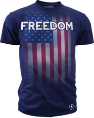 Men's Freedom Tee - Made in American - Freedom T-shirt Navy