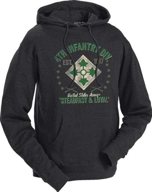 Men's Army Hoodie - US Army 4th Infantry Retro United States Army